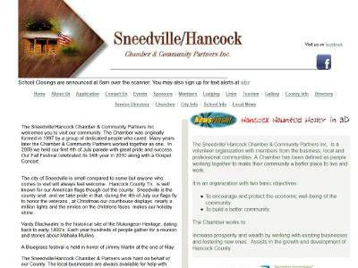 The Sneedville/ Hancock Chamber & Community Partners Inc